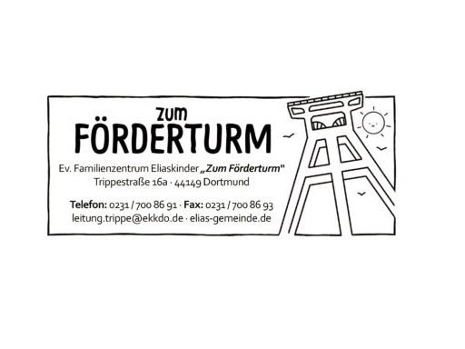 "Logo Ev. Familienzentrum Eliaskinder ""Zum Förderturm"""